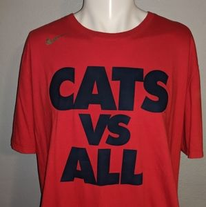Arizona Wildcats Vs All Nike Shirt XXL Excellent